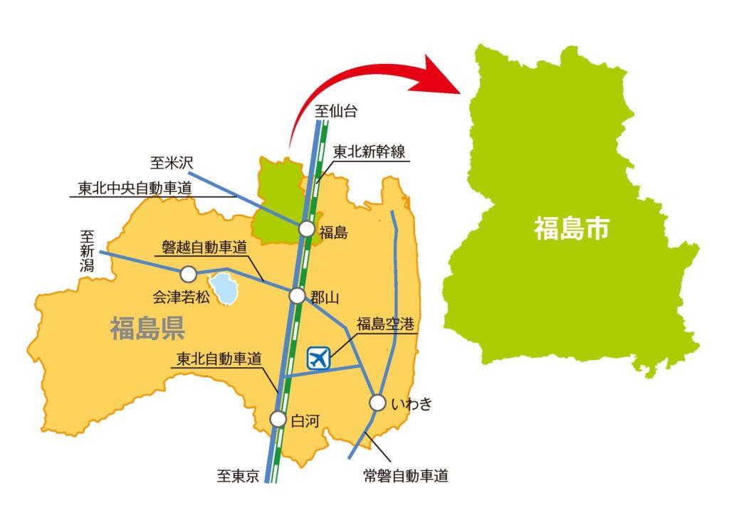 福島県MAP
